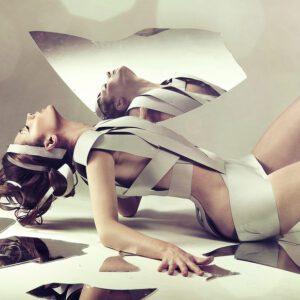 Nude Mirror Women