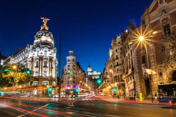 Streets Madrid