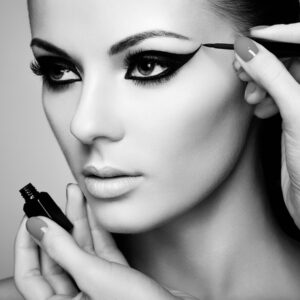 Make-up Artist Black and White