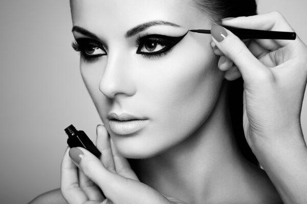 Make-up Artist Black and White