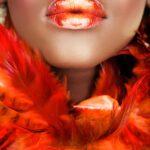 African Women Orange