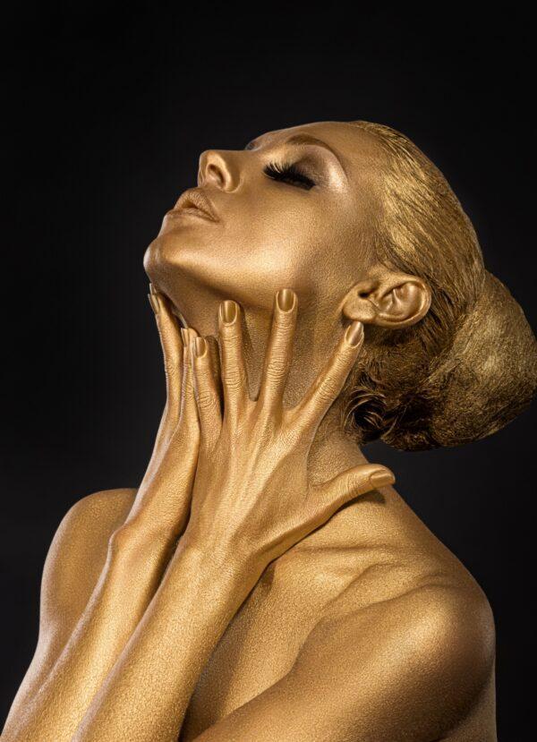 Glitter Gold Women