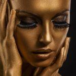 Long Lashes Gold Women