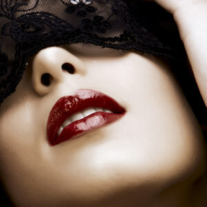 Red Lips Mask