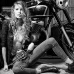 Attractive Women in Garage