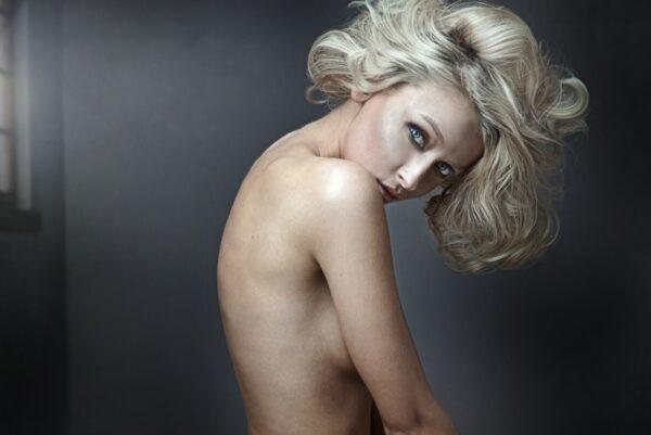 Nude Blond Women