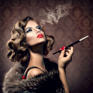 Smoking Lady