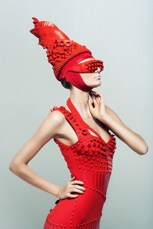 Fashion Women in Red