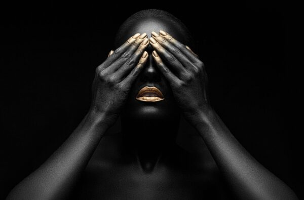 Dark Women with Gold