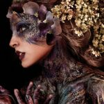 Painted Flower Lady
